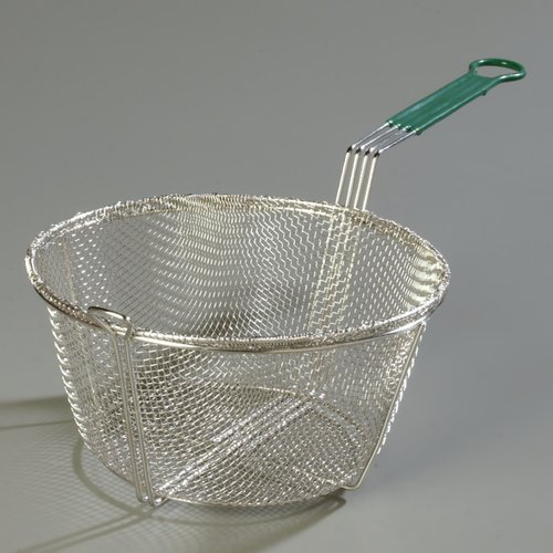 Carlisle Food Service Products Mesh Fryer Basket with Cool Touch Handle (Set of 12)