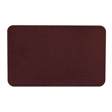 Skid-resistant Carpet Indoor Area Rug Floor Mat - Burgundy Red - 5' X 8' - Many Other Sizes to Choose - Red Carpet Ropes