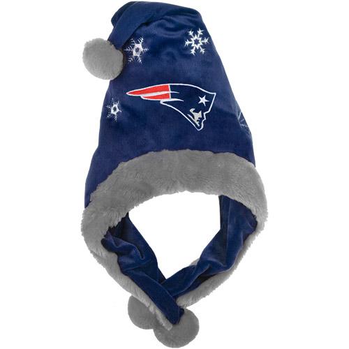 NFL Thematic Headwear Santa Hat, New England Patriots