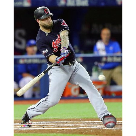 Mike Napoli Home Run Game 3 Of The 2016 American League Championship Series Photo Print