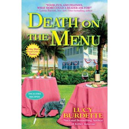 Death on the Menu: A Key West Food Critic - Halloween Finger Food Menu