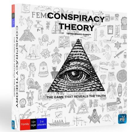 Conspiracy Theory Trivia Board Game by