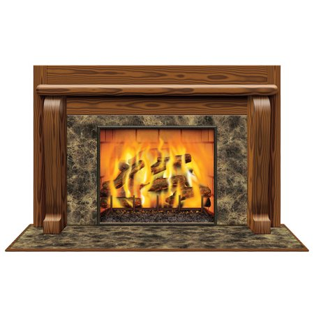 Morris Costumes Fireplace Insta-View, Style BG20193