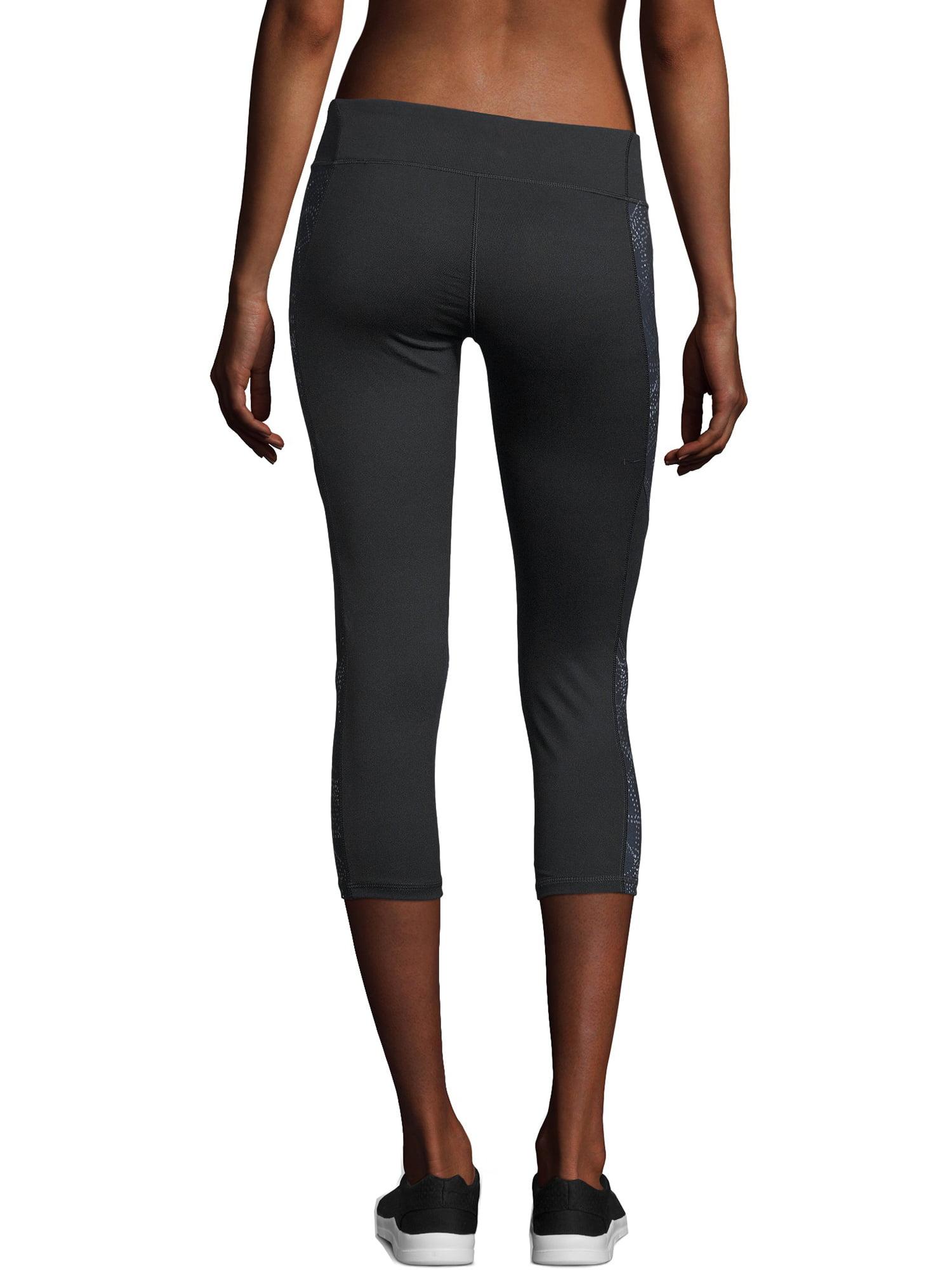 f019f7f9c8713 Hanes - Sport Women's Performance Capri Leggings w/ Inserts - Walmart.com