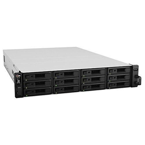 Synology RackStation RS2416RP+ 12-Bay NAS Server w  Intel Atom C2538 & 2GB RAM by Synology