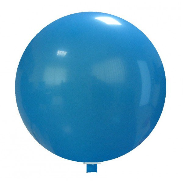"""Cattex 47"""" Light Blue Giant Round Latex Balloon (1 Ct"""
