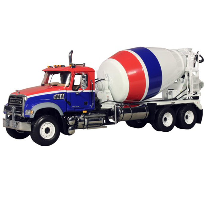 Mack Granite MP Concrete Mixer 1 34 Diecast Car Model by First Gear by First Gear