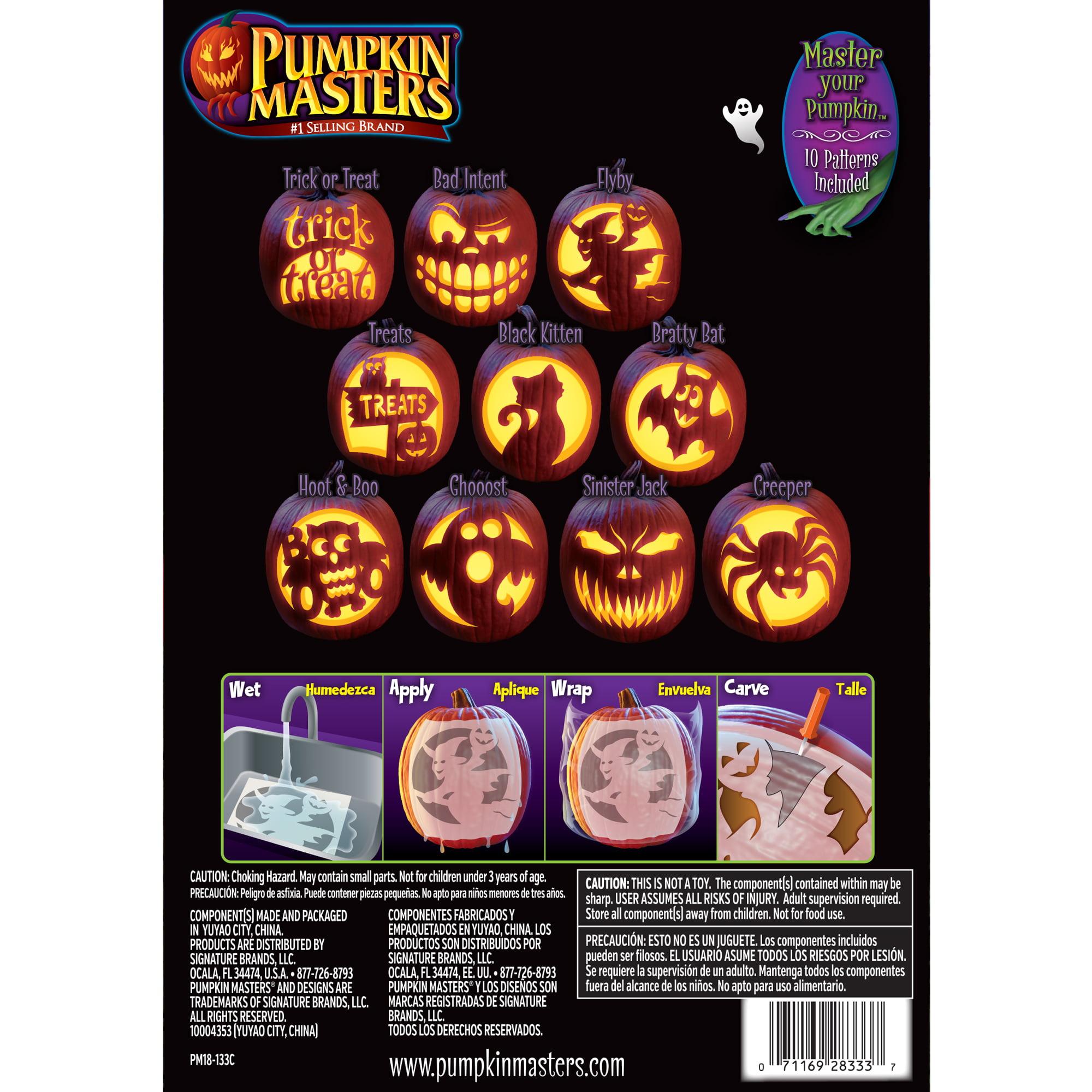 Pumpkin Masters Pumpkin Carving Kit Walmart