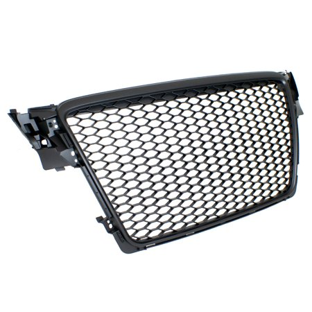 09-12 Audi A4/S4 B8 Rs4 Style Main Upper Euro Mesh Grille - Matte