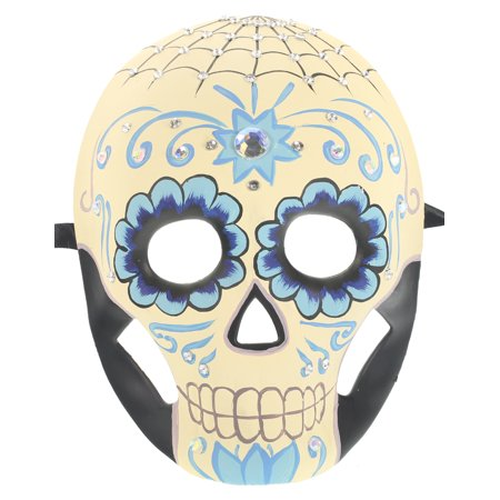 SPIDER SKELETON MASK - Day of the Dead - COSTUME PARTY - Day Of The Dead Costume Mask