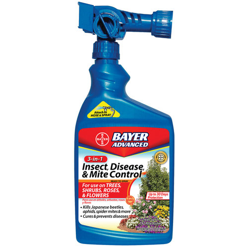 Bayer 3-In-1 Insect, Disease, and Mite Control Ready-To-Spray