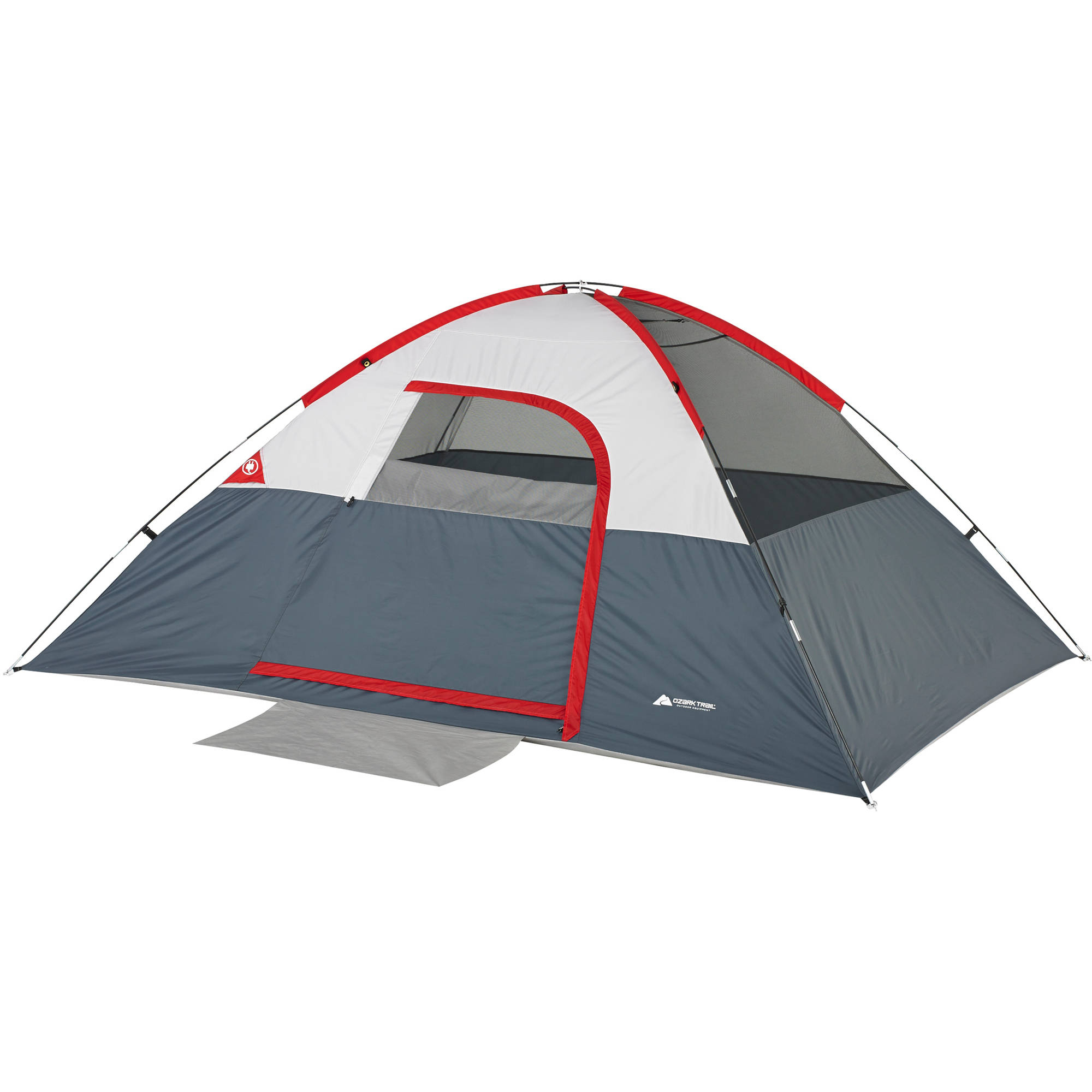 Ozark Trail 4 Person 9x7 Tent Image 7 of 10  sc 1 st  Walmart & Ozark Trail 4 Person 9x7 Tent - Walmart.com