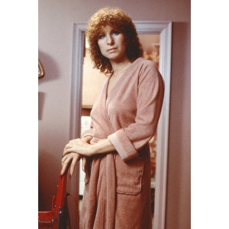 Barbra Streisand 24x36 Poster With Curly Hair in Bathrobe - 1970's Hair