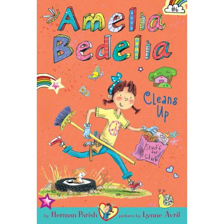 amelia bedelia chapter book 6 amelia bedelia cleans up walmart com