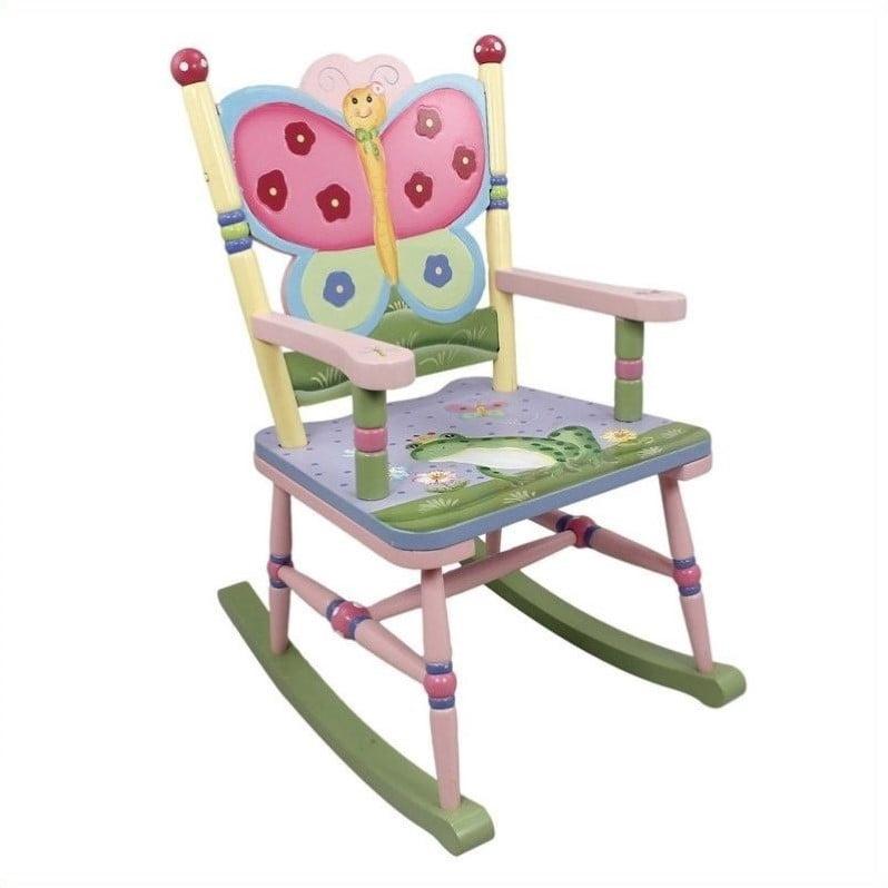 Fantasy Fields Magic Garden Rocking Chair by Teamson