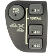 Dorman 901-060 Four Wheel Drive Selector Switch Dash Mount, Without/Elect