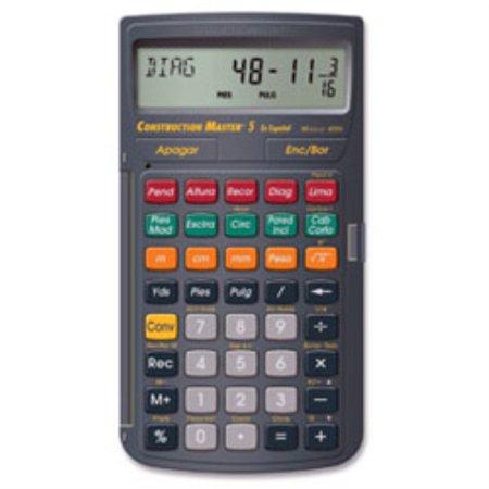 Calculated Industries 4054 Construction Master 5  En Espanol  Construction Calculator