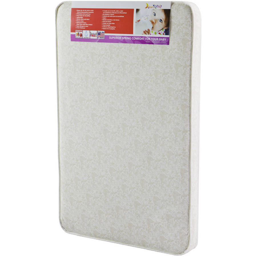 "Dream On Me 3"" Firm Rounded Corner Playard Mattress"