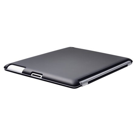 Black iPad 2, ipad 3, the new ipad, Slim fit Case cover for Apple iPad 2nd 3rd Generation Wifi / 3G / 4G Model 16GB / 32GB / 64GB color matching Sticky Case by Techgiant ()