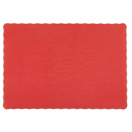 25 Scalloped Edge Paper Placemats 10