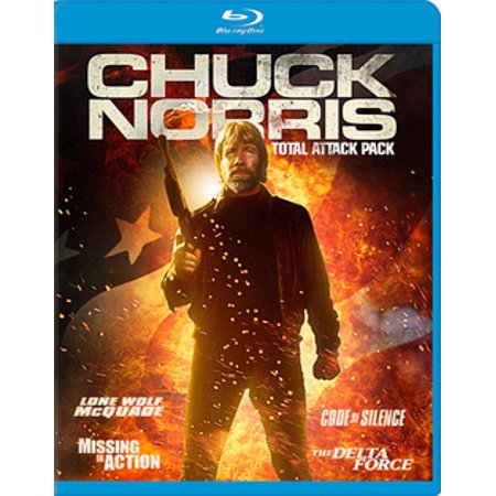 Chuck Norris Total Attack Pack (Blu-ray)