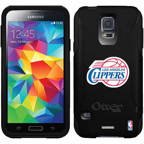 L.A. Clippers Logo Design on OtterBox Commuter Series Case for Samsung Galaxy S5