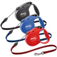 flexi Retractable Dog Leash (Cord), 16 ft, Medium