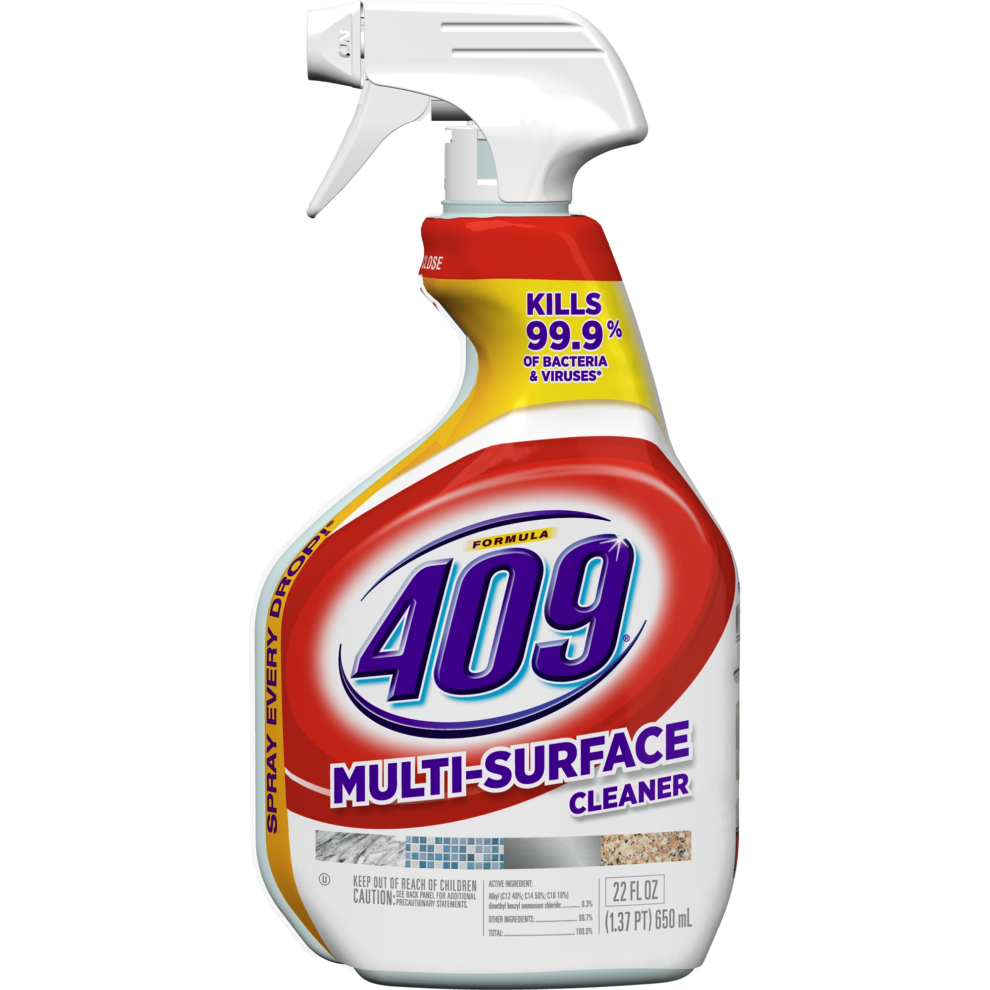 Formula 409 Multi-Surface All Purpose Cleaner, Spray Bottle, 22 oz