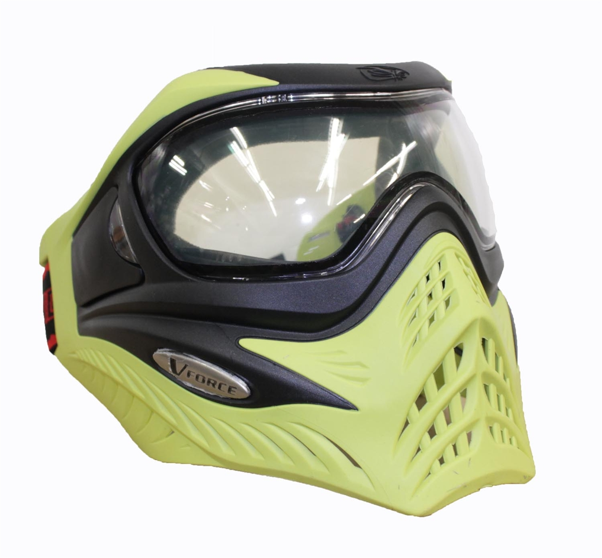 V-FORCE Grill Paintball Mask   Goggle SE Black on Lime by G.I. Sportz