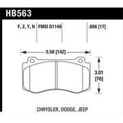 Hawk 06-07 Dodge Magnum SRT8 / 06-09 Challenger SRT8 / 05-07/09 Chrysler 300 C SRT8 HP Plus Street F