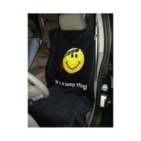 Jeep Smiley Face Logo Seat Cover