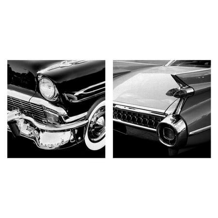Masterpiece Art Gallery Vintage Wheels I & II Classic Cars By PhotoINC Studio Canvas Art Print 24