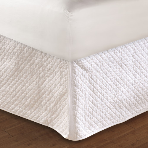 Greenland Home Fashions Diamond Quilted Bed Skirt