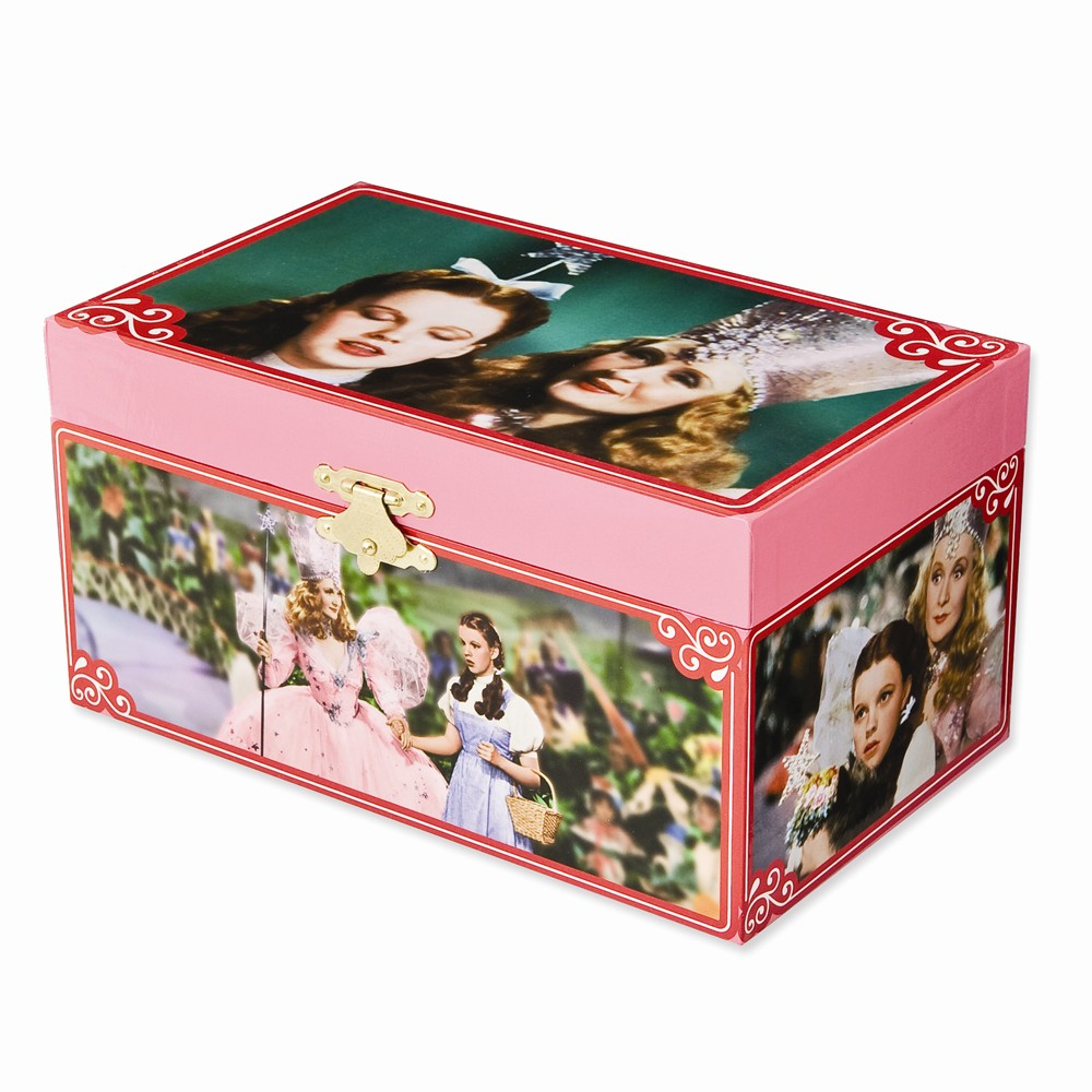 The Wizard of Oz (TM) Dorothy and Glinda Jewelry Box Multi-Colored
