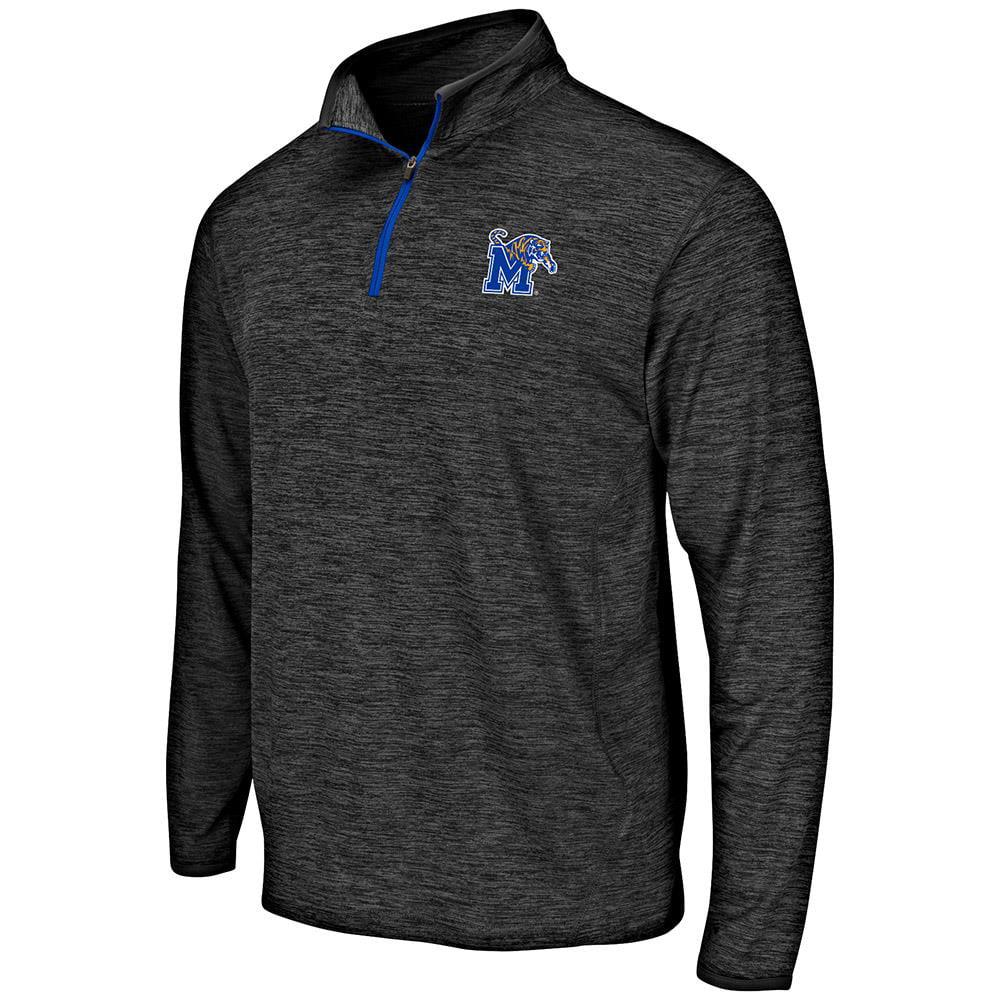 Mens Memphis Tigers Quarter Zip Windbreaker Shirt - S