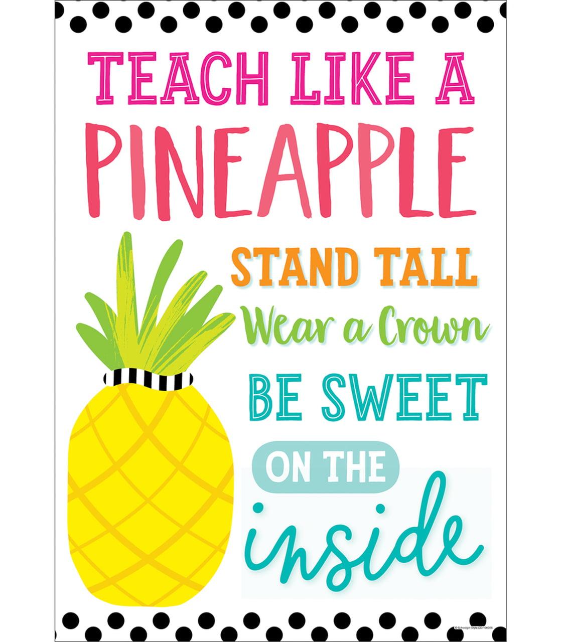 Teach Like A Pineapple Teacher Tote