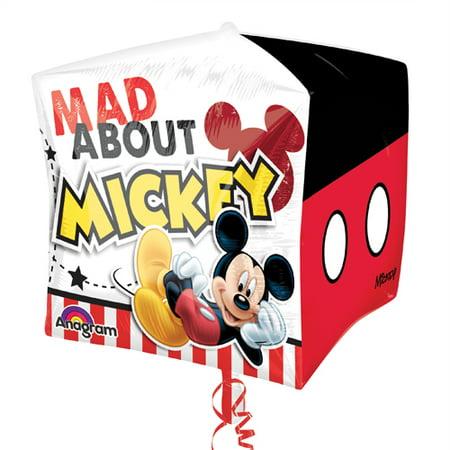 Mickey Mouse Cubez Foil Mylar Balloon (1ct)