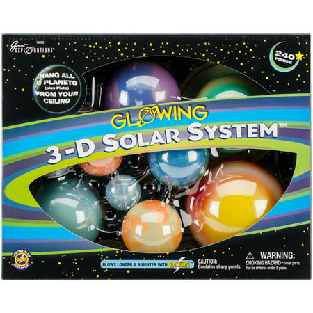 Crocodile Creek Solar System (3D Solar System Kit)