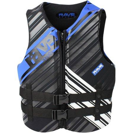 Rave Sport Mens Neo Life Vest  Large  Black