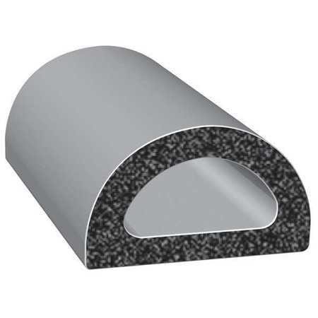 TRIM LOK INC EPDM Trim Seal,Alum Clip,0.19 In W,25 Ft Black 5M062B3X1//64A-25