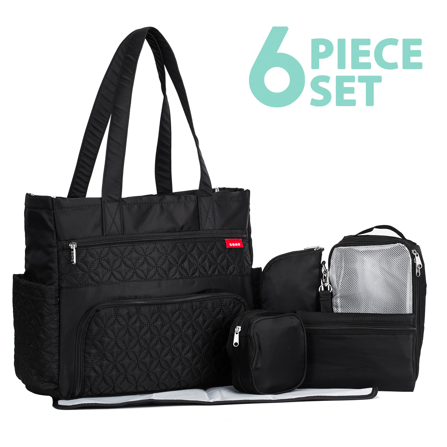 Williamsburg 6 pieces Diaper Tote Bag set * Limited Tme Offer! *