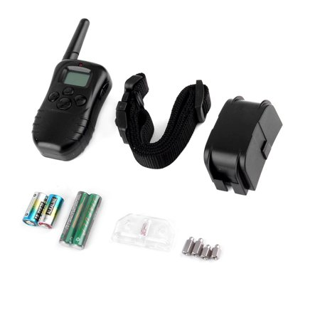 Dog Trainer Waterproof Lcd 100Lv 300M Remote Shock Vibrate Pet Dog Training Bark Stop Collar One Dog
