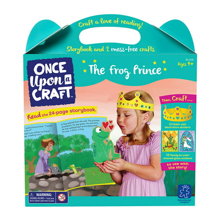 Kids Crafts Frogs - Educational Insights Once Upon a Craft, The Frog Prince