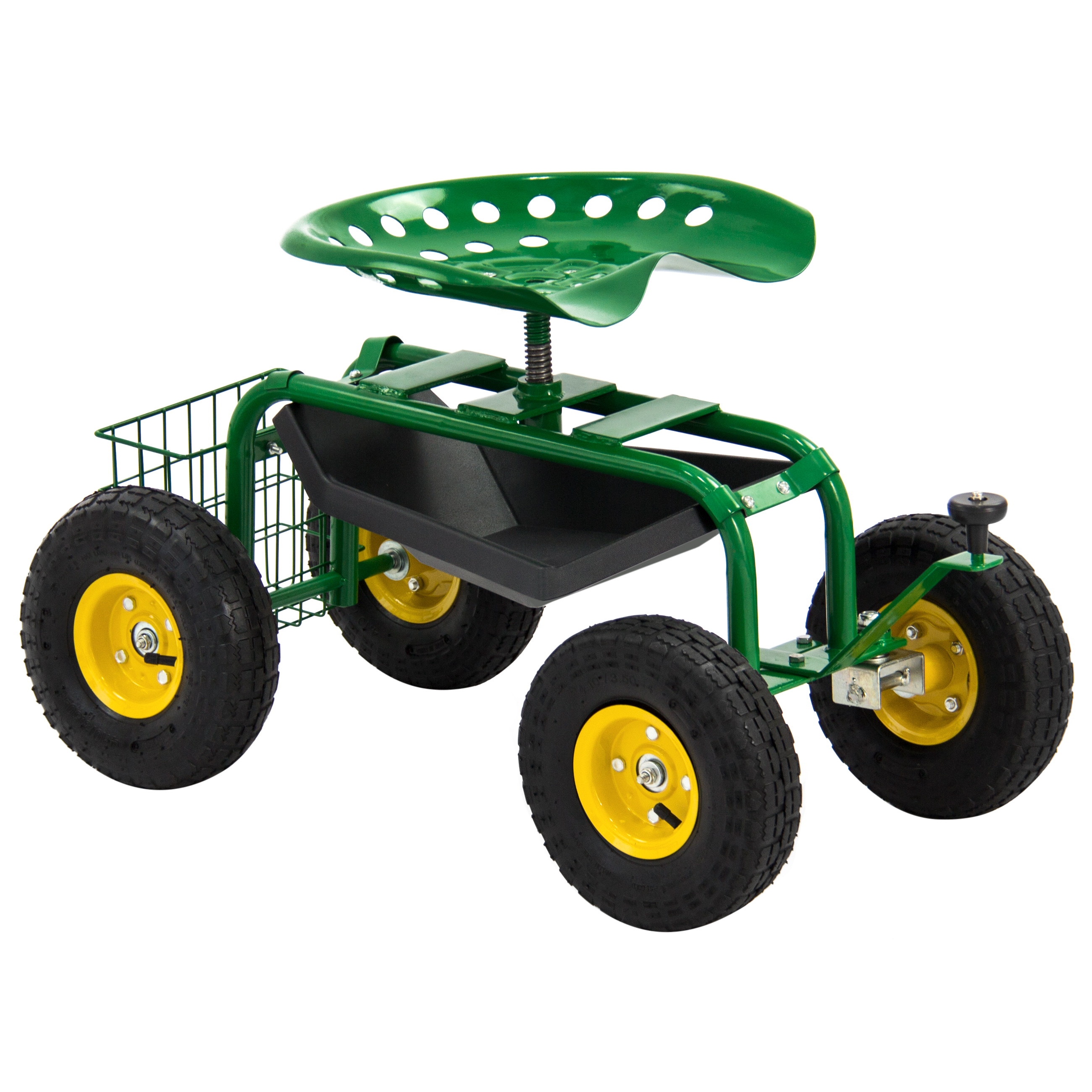 Garden Cart Rolling Work Seat With Tool Tray Heavy Duty Gardening Planting New  sc 1 st  Walmart & Garden Cart Rolling Work Seat With Tool Tray Heavy Duty Gardening ... islam-shia.org