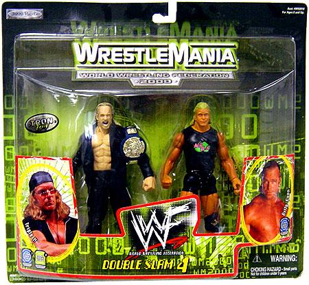 Triple H & Billy Gunn Action Figure 2-Pack WWE Wrestling