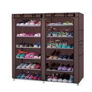 Zimtown 6 Layer 12 Grid Shoe Rack Shelf Storage Closet Organizer Cabinet