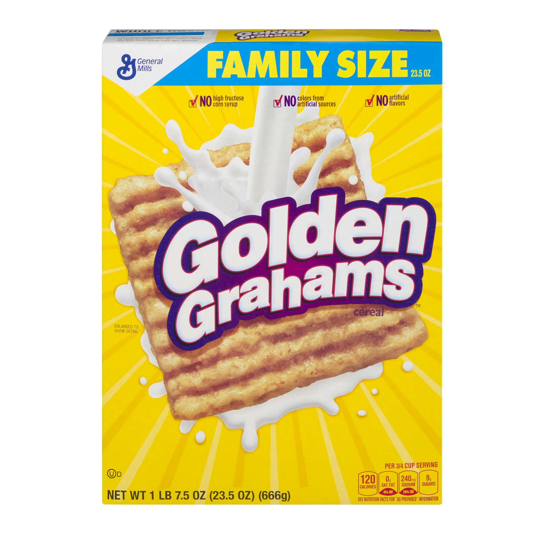Golden Grahams Breakfast Cereal, 23.5 oz