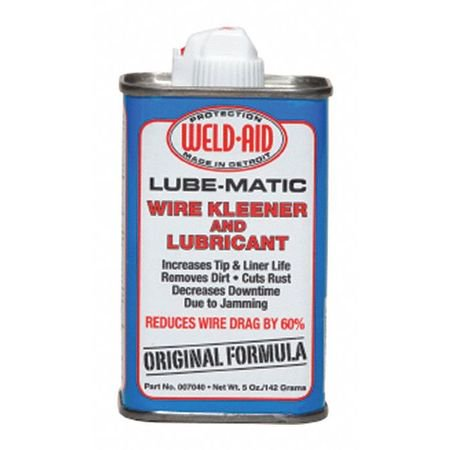 WELD AID 007040 LUBE MATIC 007040 Wire Kleener and Lubricant Liquid fo