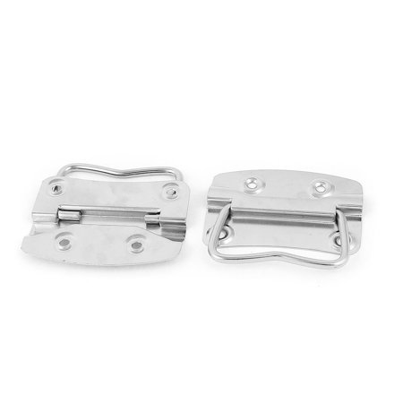 Trunk Drawer Cupboard Toolbox Chest Metal Pull Handle Silver Tone (Silver Tone Drawer Pulls)