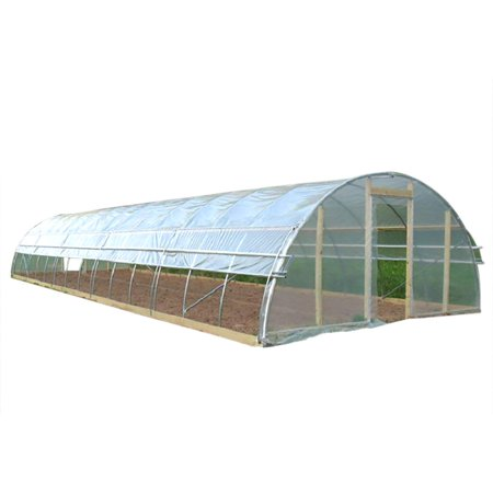 Agfabric Plastic Covering 6Mil Clear Polyethylene Greenhouse Film UV  Resistant for Grow Tunnel and Garden Hoop, Plant Cover&Frost Blanket for  Season